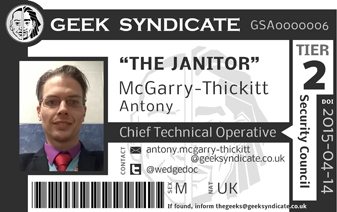 Geek Syndicate ID Card