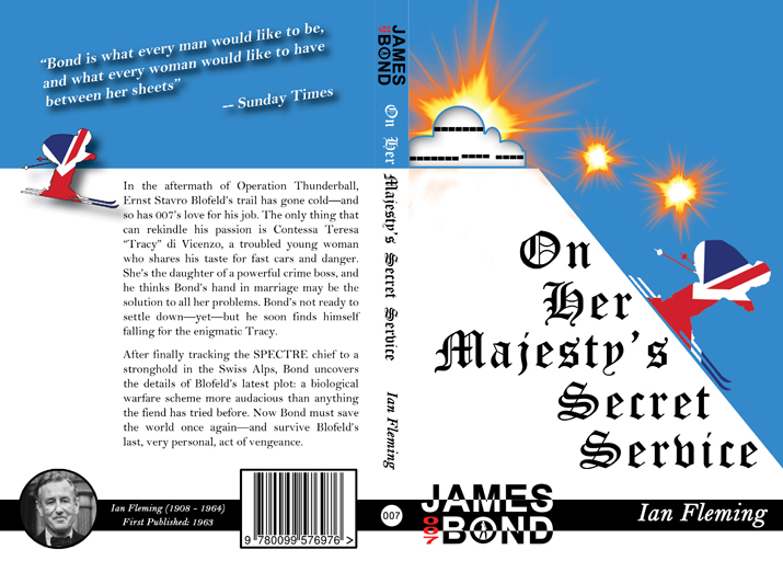 On Her Majesty's Secret Service Full Cover
