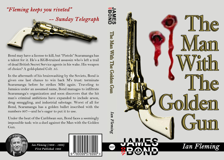The Man With the Golden Gun Full Cover