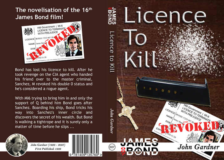 Licence to Kill Full Cover