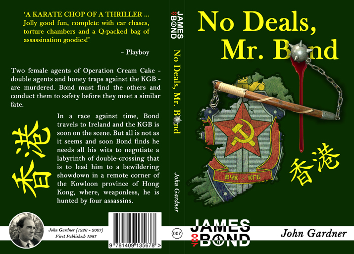 No Deals Mr Bond Full Cover